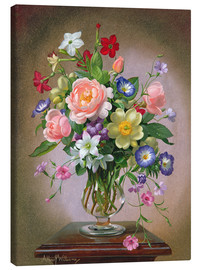 Canvas print  Roses, Peonies and Freesias - Albert Williams