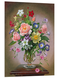 Forex  Roses, Peonies and Freesias - Albert Williams