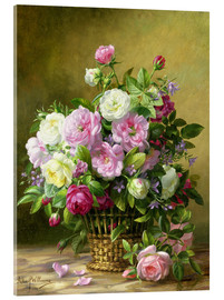 Acrylic print  Roses - Albert Williams