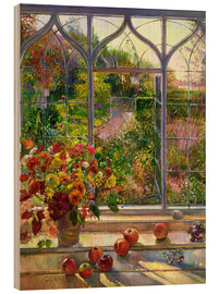 Wood print  Autumn View - Timothy Easton