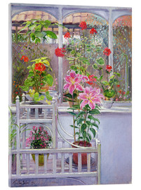 Acrylic glass  In the winter garden - Timothy Easton