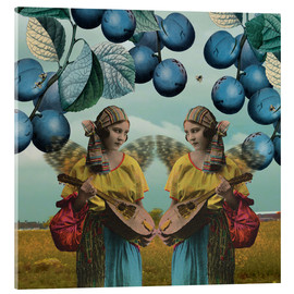 Acrylic print  You and me, 2014, - Olga Snell