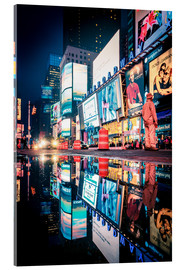 Acrylic print  Broadway, Times Square by night - Sascha Kilmer