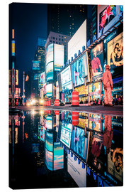 Canvas print  Broadway, Times Square by night - Sascha Kilmer