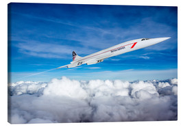 Canvas print  Concorde Supersonic - Paul Heasman