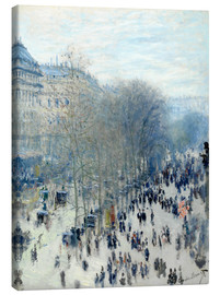 Canvas  Boulevard des Capucines - Claude Monet