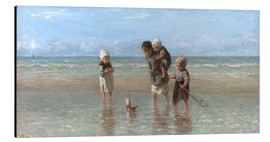 Aluminium print  Children of the sea - Jozef Israels