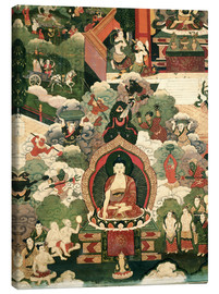 Canvas print  The life of the Buddha Sakymuni - Tibetan School