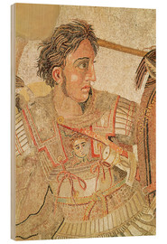 Wood print  Alexander the Great - Roman
