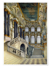 Premium poster Staircase of the winter palace