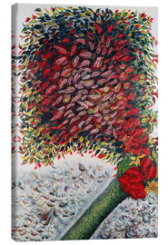 Canvas  The Red Tree - Seraphine Louis