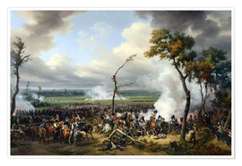 Premium poster Battle of Hanau, 1813
