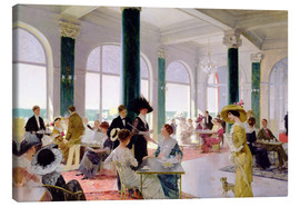 Canvas print  Afternoon tea - Rene Lelong