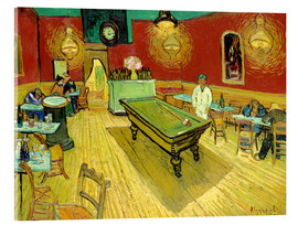 Acrylic print  Night Cafe in Arles - Vincent van Gogh