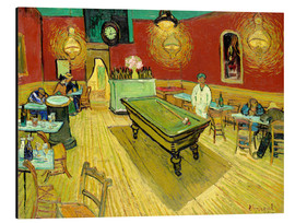 Aluminium print  Night Cafe in Arles - Vincent van Gogh
