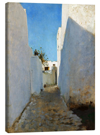 Canvas  A Moroccan Street Scene - John Singer Sargent