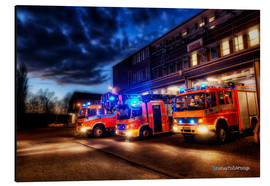 Aluminium print  German fire trucks - Markus Will