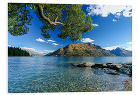 Foam board print  Queenstown New Zealand - Thomas Hagenau