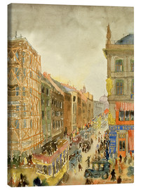 Canvas print  Straße in Berlin - Carl Grossberg