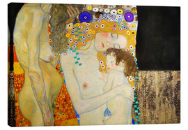 Canvas  The Three Ages of Woman (Detail) - Gustav Klimt