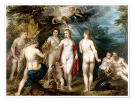 Premium poster The judgment of paris