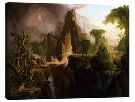 Canvas print  Expulsion from the Garden of Eden - Thomas Cole