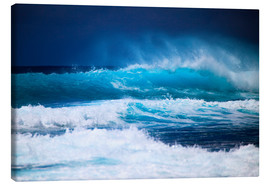 Canvas  Waves off Hawaii, Oahu - Tomas del Amo