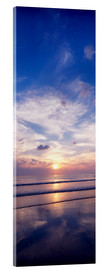 Acrylic print  Sunsets on the beach - The Irish Image Collection