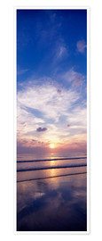 Premium poster  Sunsets on the beach - The Irish Image Collection