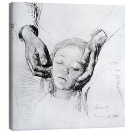 Canvas print  Crushed - Käthe Kollwitz