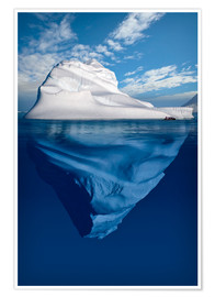 Premium poster  Iceberg in the Canadian Arctic - Richard Wear