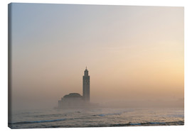 Canvas print  Mosque of Casablanca - Ian Cuming