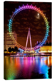 Canvas print  London Eye - Dosfotos