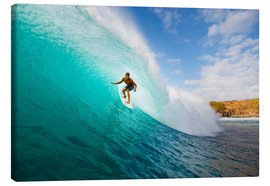 Canvas print  Surfer in Hawaii - MakenaStockMedia