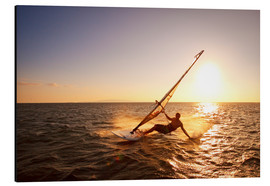 Aluminium print  Windsurfer in Hawaii - MakenaStockMedia