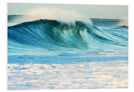 Foam board print  Waves in Hawaii - Vince Cavataio