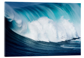 Acrylic glass  Surfs ago Maui - Ron Dahlquist