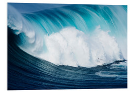 Foam board print  Surfs ago Maui - Ron Dahlquist