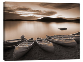 Canvas print  Boats on Elkwater Lake - Darwin Wiggett