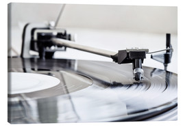 Canvas  turntable - Filtergrafia