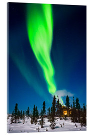 Acrylic glass  Aurora in Alaska - Kevin Smith