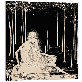 Wood print  The Midden's Song - Dorothy Lathrop