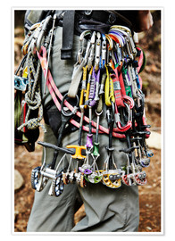 Premium poster  Climbing equipment in the Adirondacks - Roderick Chen