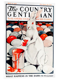 Acrylic print  Cover of Country (White Rabbit) - Remsberg
