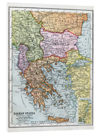 Foam board print  The Balkan States Between The First And Second World Wars - Ken Welsh
