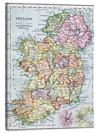 Canvas print  Irish Free State And Northern Ireland - Ken Welsh