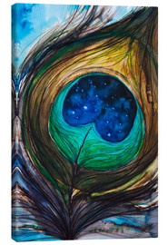 Canvas print  Peacock feather - Tara Thelen