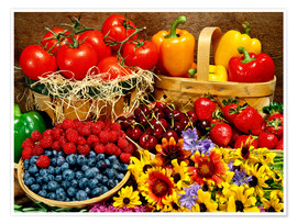 Premium poster Fruits And Vegetables