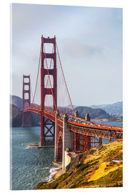 Acrylic print  Golden Gate Bridge in San Francisco - Leah Bignell
