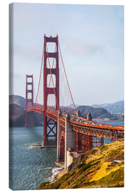 Canvas print  Golden Gate Bridge in San Francisco - Leah Bignell